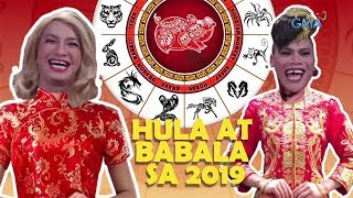 The Boobay and Tekla Show: Malas at swerte sa 'Year of the Earth Pig - 2019' | GMA One