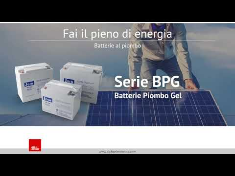 Introduzione Alla Gamma Di Batterie Piombo JOIN