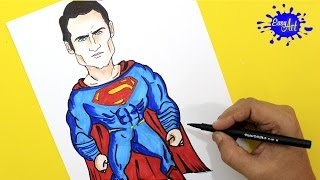 How to paint Superman (Batman vs superman) / Como pintar superman