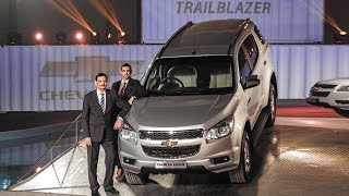 Chevrolet Trailblazer Launched at Rs 26.4 Lakh | Car Launch In India 2015