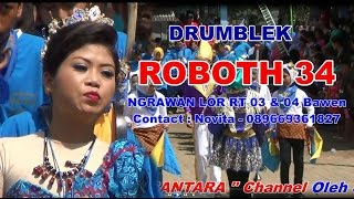 DRUMBLEK ROBOTH 34 - ROWO GANJAR FESTIVAL DRUMBLEK 18 DESEMBER 2016
