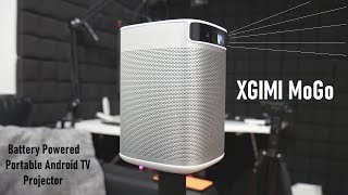 XGIMI MoGo: Smart Mini Projector with Android TV!