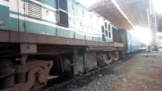 indian railways starting up a ydm4 class metre gauge locomotive