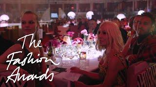 Donatella Versace | The Fashion Icon Award | The Fashion Awards 2017