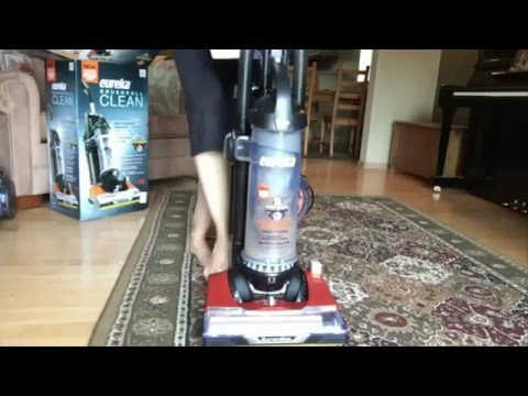 Eureka Brushroll Clean Pet Upright Vacuum with Suction Seal Technology AS3401AX Review - Corded