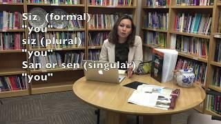 Learn Uzbek with Dilnoza, Lesson 1