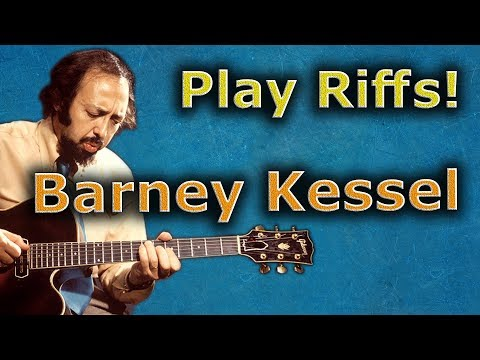 Barney Kessel - How To Make A Bebop Solo Catchy