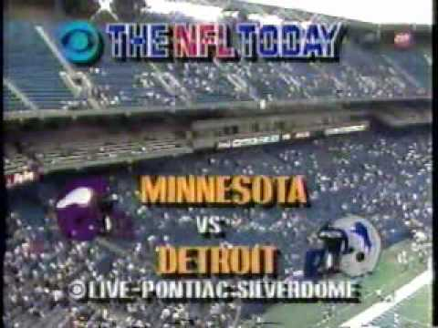 NFL Today Intro October 1989
