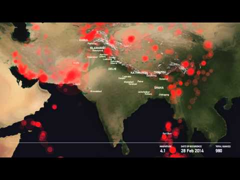 The Story of One Thousand Earthquakes