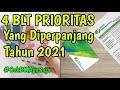 - 4 BLT PRIORITAS DARI PEMERINTAH YANG AKAN DIPERPANJANG DI TAHUN 2021