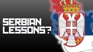 Serbian lesson with Boris