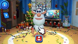 ГОВОРЯЩИЙ БУБА - ИГРА Мультик для детей НОВЫЕ СЕРИИ Ухаживаем за Бубой Talking Booba Game For Kids