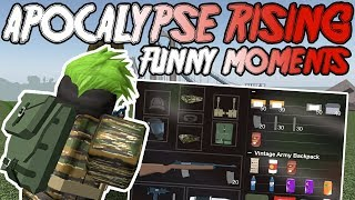 APOCALYPSE RISING 2 - ONE MAN ARMY! | FUNNY MOMENTS (ROBLOX)