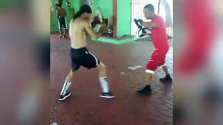 Narciso González Training Boxing Dominican Repúblic