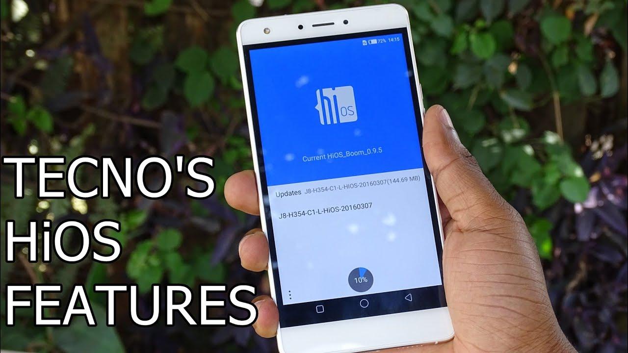 Tecno HiOS Overview