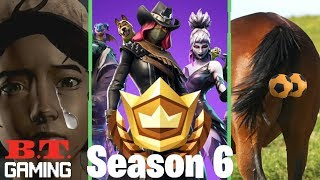 BT Gaming-' Fortnite Season 6 is here! -Telltale Games closes-RDR2 for realistic?! '
