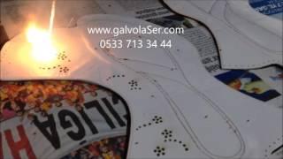 Galvo Lazer Deri Ayakkabı Çanta Kesim Kazıma Dekorasyon//05337133444