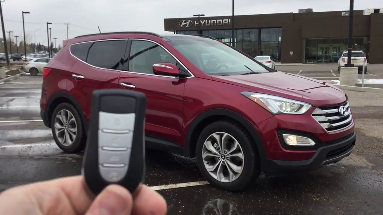 How To Use Your Hyundai Factory Remote Start Youtube