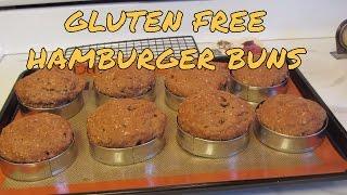 Hearty Whole Grain Hamburger ~ Sandwich Buns ~ Gluten Free