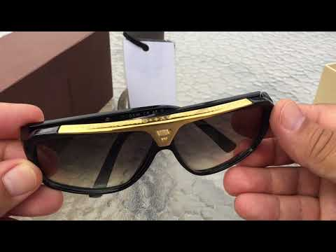 Louis Vuitton Sunglasses Review Black And Gold