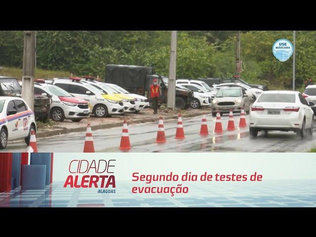 'Operação Alagoas': segundo dia de testes de evacuação