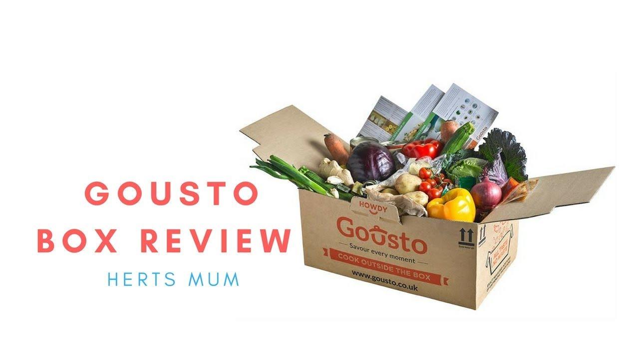 Unboxing and recipe box review herts mum gousto box youtube unboxing and recipe box review herts mum gousto box forumfinder Gallery