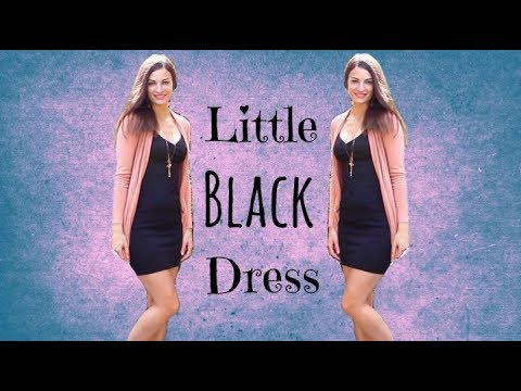 529d63e8c9f8 Little Black Dress - Classy Outfit of the Day Summer Look OOTD Semi Formal Cocktail  Dress
