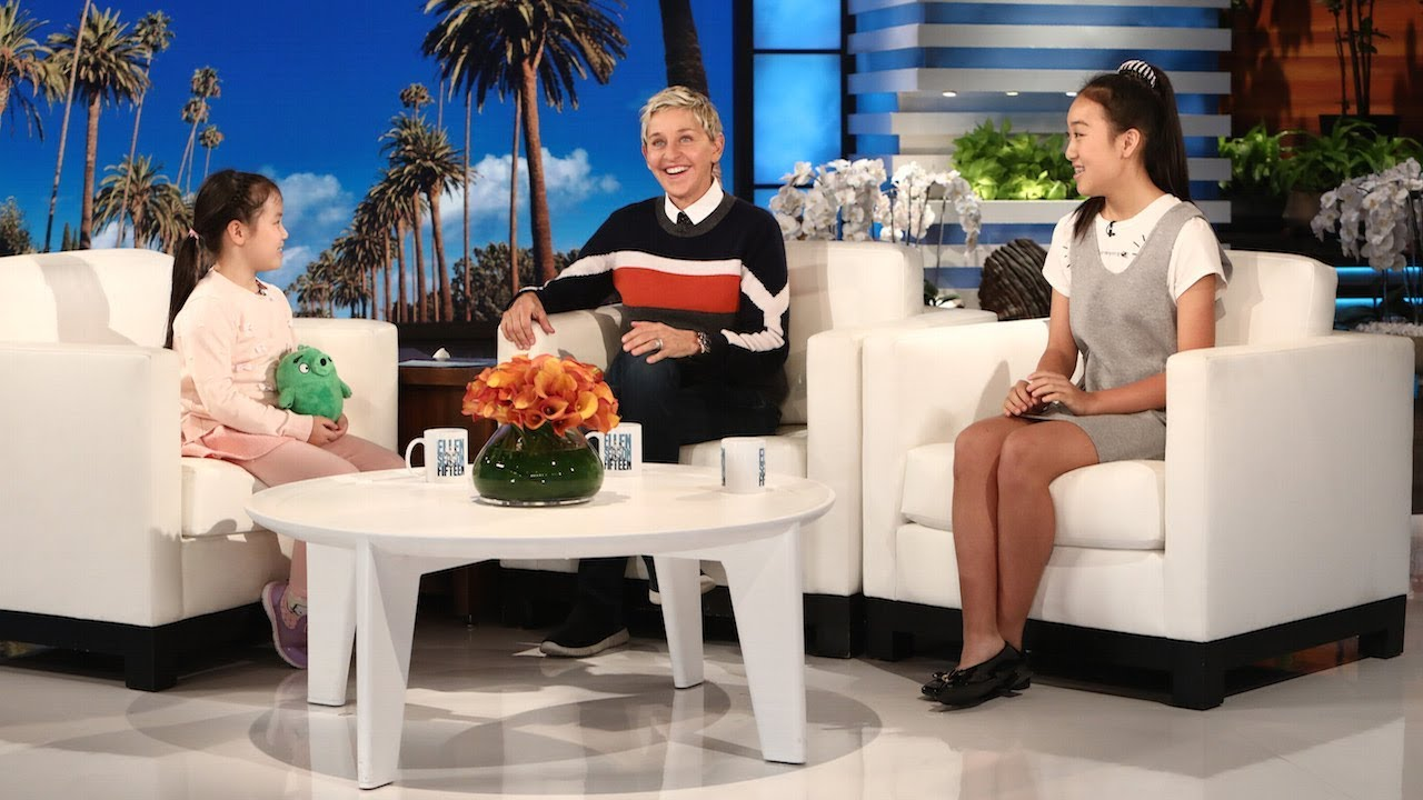 Asian girl from ellen for that interfere