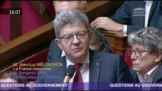 AFFAIRE BENALLA : «QUE CHERCHIEZ-VOUS À CACHER ?» - Mélenchon questionne Philippe
