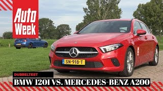 Mercedes A200 vs. BMW 120i - AutoWeek Dubbeltest - English subtitles