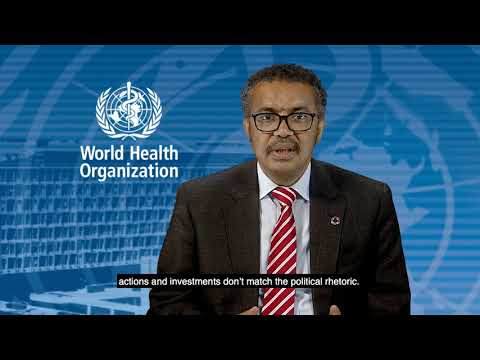 WHO: Ending Tuberculosis - Statement by WHO Director-General for Global Ministerial Conference