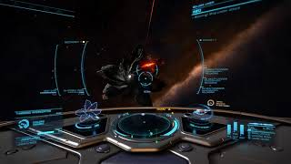 Thargoid solo kill with Beluga and new AX multicannons