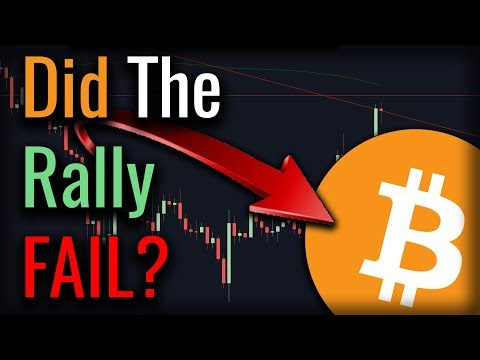 Did Bitcoin FAIL To BREAKOUT? No.... Not Yet Anyway.