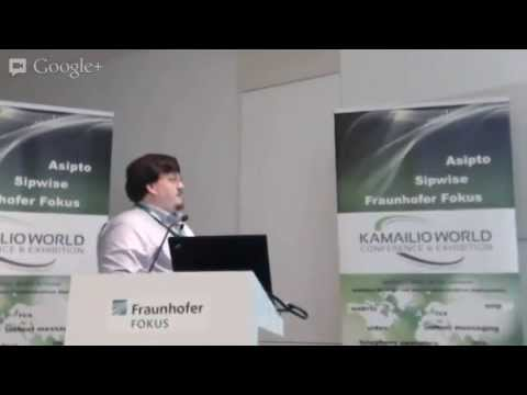 Kamailio World Berlin - Crocodile: Peter Dunkley