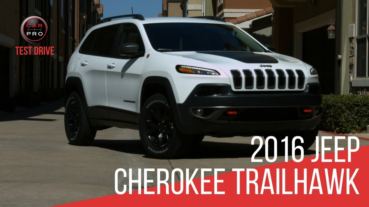 2016 Jeep Cherokee Trailhawk Test Drive