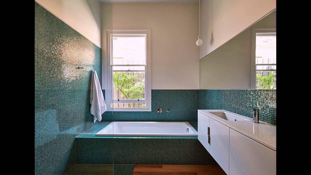 Fliesen Farbe Und Glanz In Die Moderne Badezimmer  Youtube
