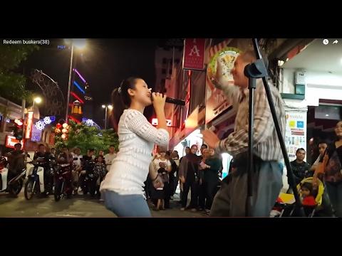 kopi dangdut-Nurul feat Redeem buskers,gelek dengan otaii toukeh karpet