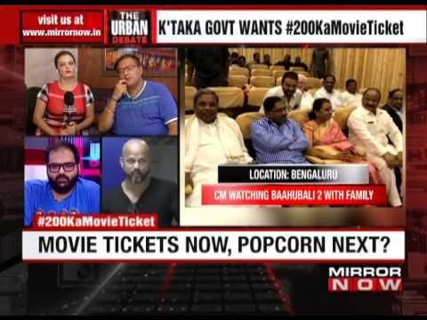 K'taka govt caps movie ticket prices at Rs 200 – The Urban Debate (May 4)