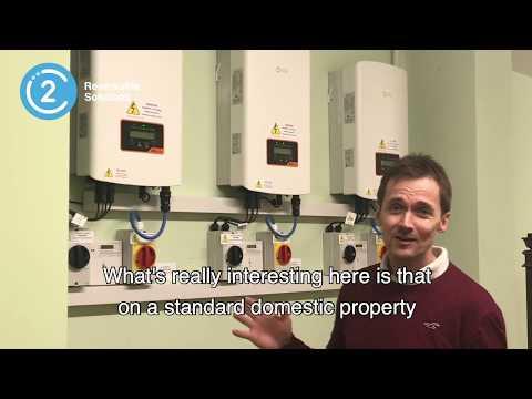 How we utilised three Solar Inverters for Domestic Use. #Solarpanels #renewableenergy