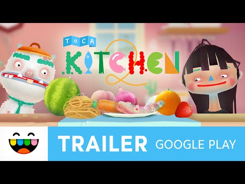 Cook Weird & Yum Things in Toca Kitchen 2 | Google Play Trailer | @TocaBoca
