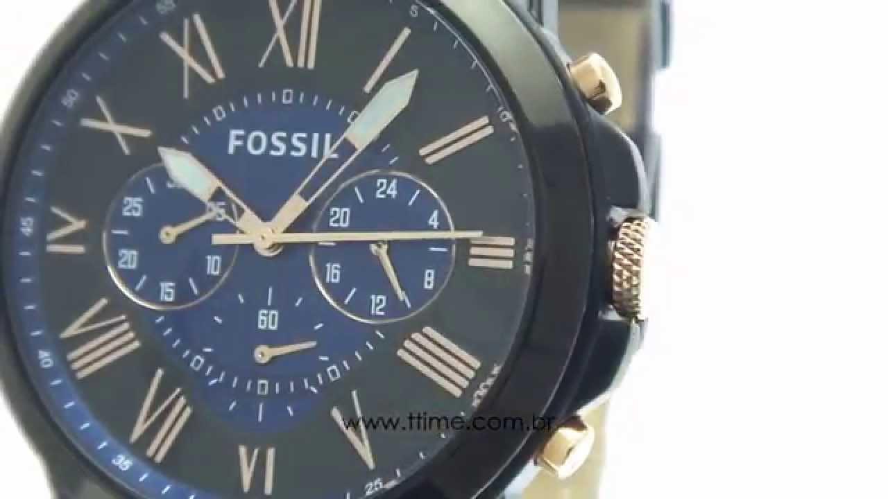 b686ea4ece0 Relógio Fossil FS5061 0AN - YouTube