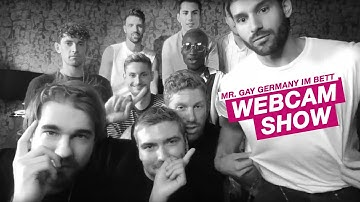 Die Mr. Gay Germany Webcam-Show | schwanz & ehrlich