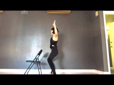 Alexandria Stylebook Move of the Week: Office Yoga!