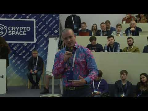 Cryptospace Moscow. Simon Dixon. Five investment waves that came from Bitcoin