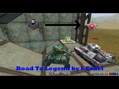 tanki online road to legend 2 l cruel youtube. Black Bedroom Furniture Sets. Home Design Ideas