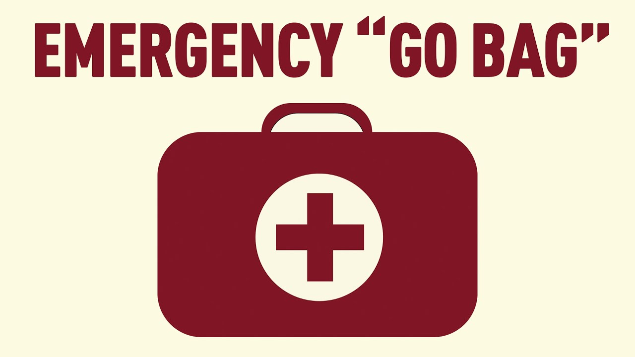 Be Prepared What You Need For An Emergency Go Bag