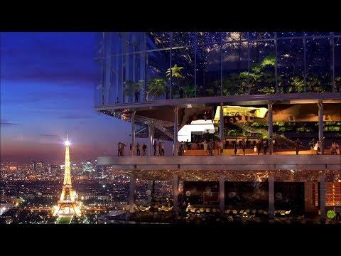 Tour Maine-Montparnasse redesign the building's facade.210-metre(689 ft) office skyscraper in Paris.