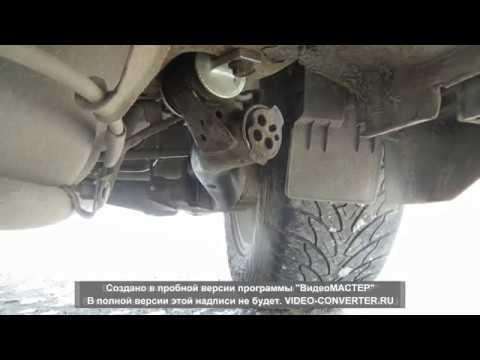 Как работает сайлентблок в движении на Honda Crv