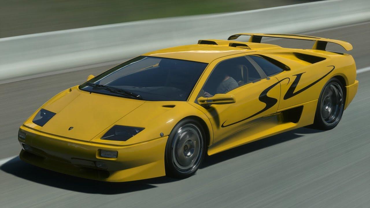 Lamborghini Diablo Wallpaper Hd Driveclub Lamborghini Diablo Sv Oliver S Landing Time