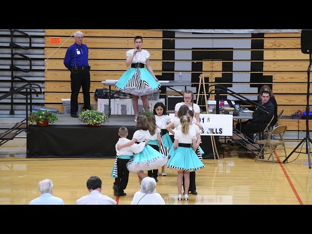 #PNTSDF2018 Jacks & Jills PreTeen Novice Display, Faith